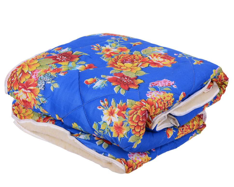 Одеяло Открытое овечья шерсть (Поликоттон) Двуспальное Евро T-51255