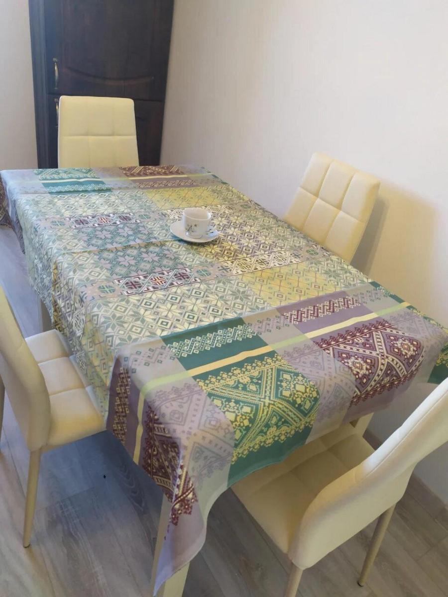 Скатерть столовая 110х150 см из рогожки Герда TRA-1-322