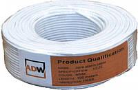 Кабель ADW 8 х 0.22 CCA unshield (кабель для охранно-пожарной сигнализации. бухта 100 м)