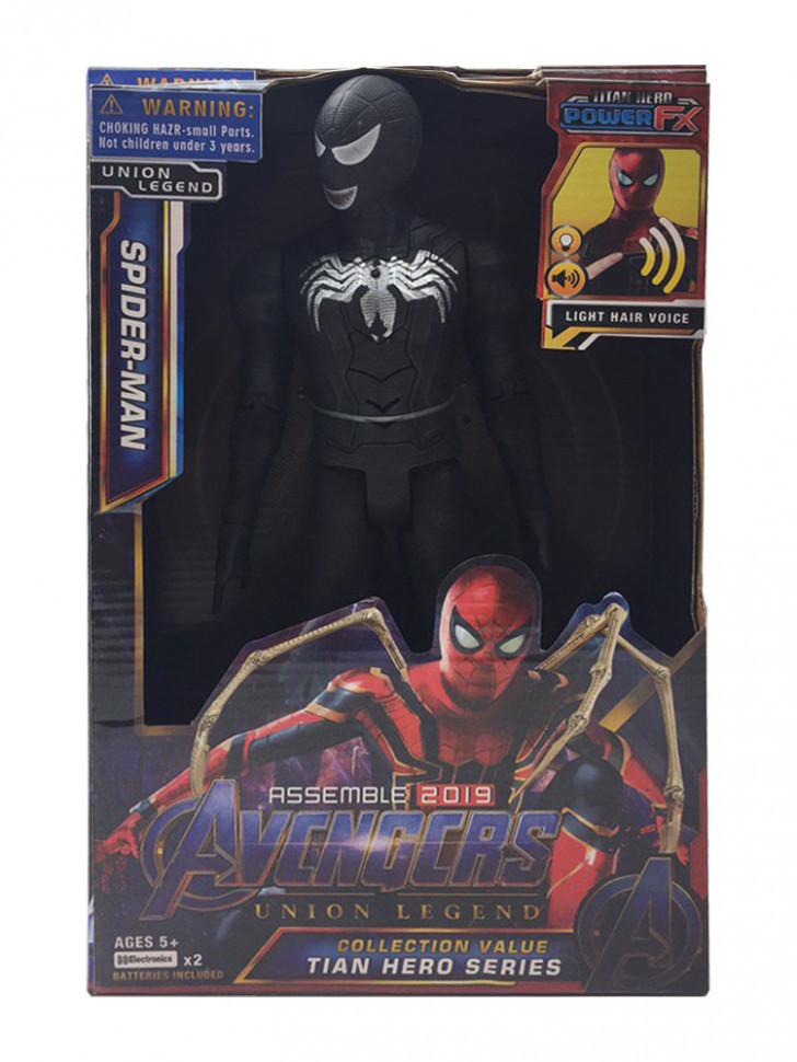 Фігурки герої Марвел (Spider-Man, black) LK4001-SMB