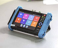IP tester IPC-9800ADH Plus. Сервисный монитор монтажника поддерживает AHD CVI TVI CVBS и IP камеры