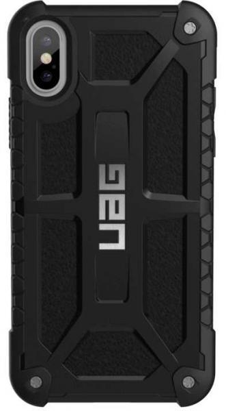 Чехол UAG Monarch iPhone XS Max черный противоударный