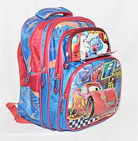Школьный рюкзак Тачки для мальчиков 1, 2 класс. Портфель ранец рюкзак ортопедический для школы