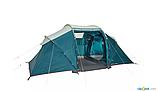 Палатка Arpenaz 4.2 QUECHUA. Четыреместная, двухкомнатная, фото 3