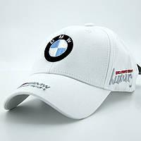 Кепка BMW А72 Белая Бейсболка