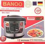 Мультиварка BANOO BN-7001,12 програм,6 литров,1500 Вт, фото 2