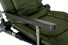 Крісло коропове з підставкою для вудки і бічним столиком M-Elektrostatyk F5R ST/P NN, фото 3