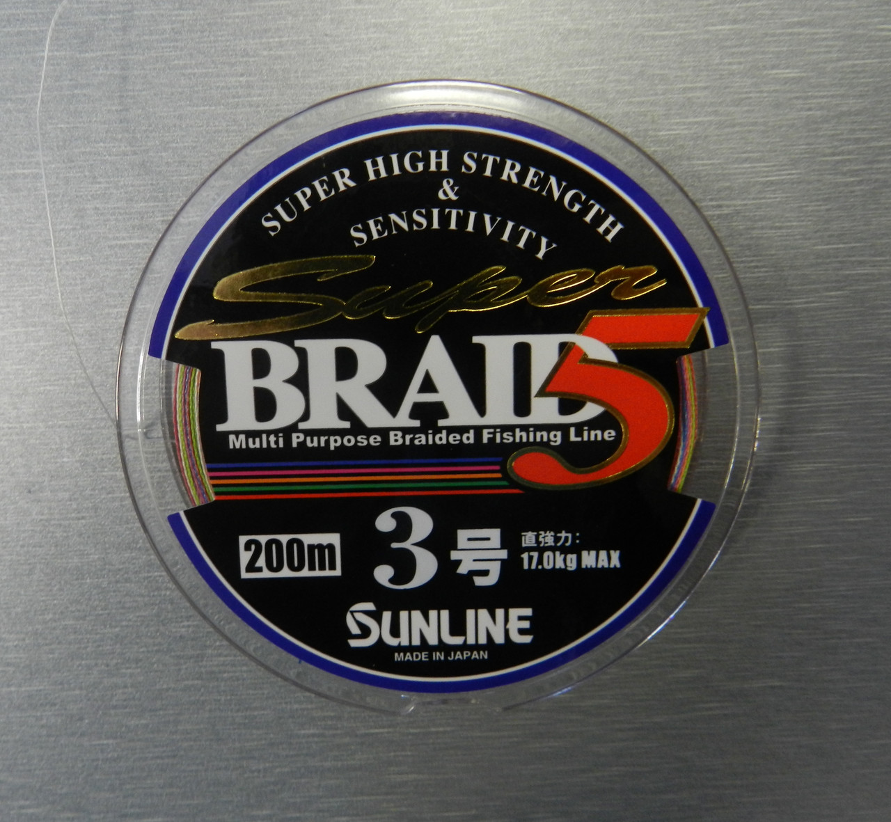Шнур Sunline Super Braid 5 200m #3.0/0.27мм 17кг