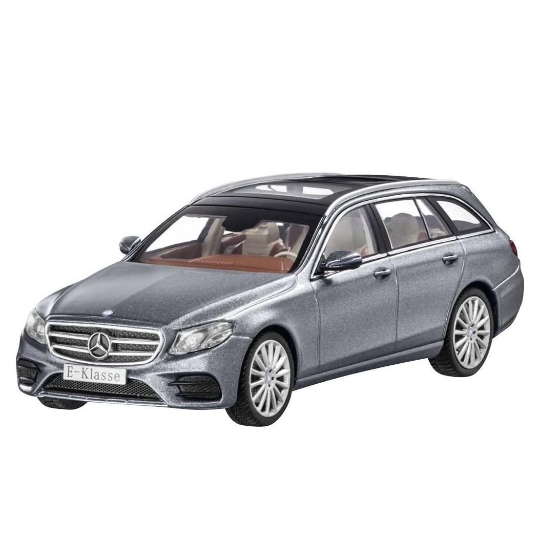 Модель Mercedes-Benz E-Class Estate, AMG Line, Selenite Grey, Scale 1:43, артикул B66960381