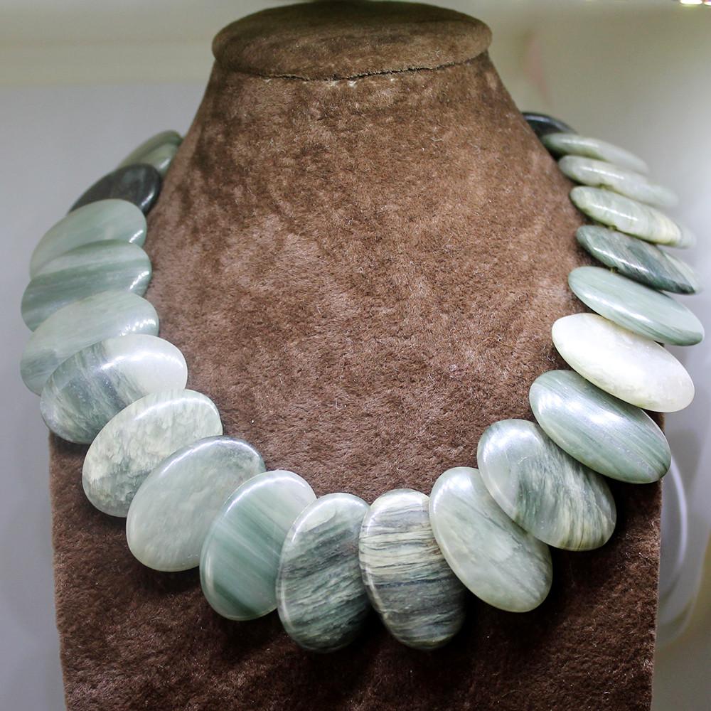 Бусы из натурального камня яшма