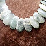 Бусы из натурального камня яшма, фото 2