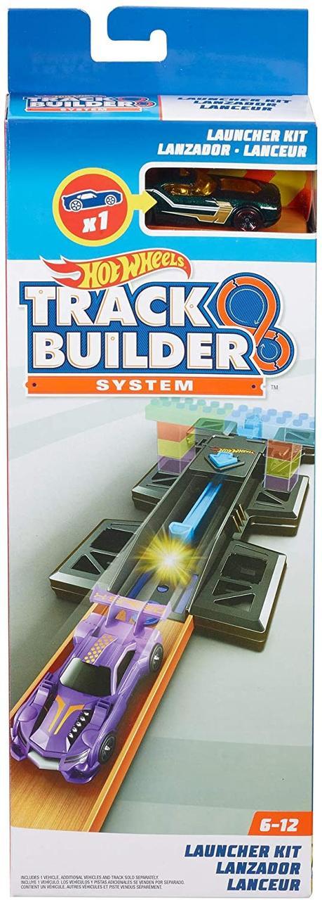 Трек Хот Вилс Оригинал Планировщик запуска Hot Wheels Track Builder Launch Kit Playset (FTF69)