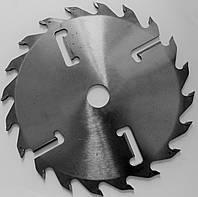 Пильный диск, диск с подрезными ножами D300 d80 24+4  3,4/2,2