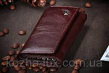 Ключница кожаная с отделением для денег Braun Buffel, фото 2