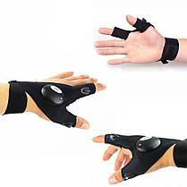 Перчатка с светодиодной подсветкой   Фонарик на руку DreamTon, фото 3