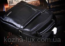 Качественная кожаная сумка, фото 3