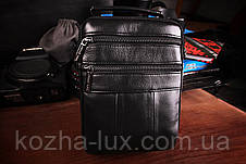 Качественная мужская сумка кожаная, фото 2