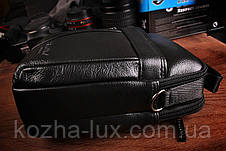 Качественная мужская сумка кожаная, фото 3