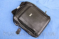 Мужская сумка вместительная кожаная, фото 2