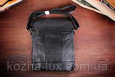 Стильная мужская сумка кожаная, фото 2