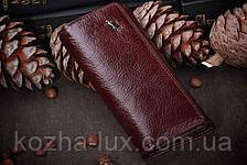 Бордова шкіряна ключниця Braun Buffel, фото 2
