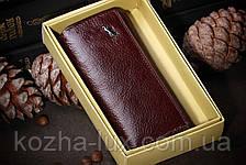 Бордова шкіряна ключниця Braun Buffel, фото 3