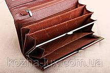 Кошелек кожаный брендовый, фото 3