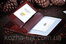 Шкіряна обкладинка на документи Braun Buffel, фото 3