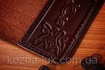 Эксклюзивная обложка на паспорт кожаная, фото 2