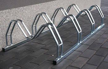 Велопарковка на 4 велосипеди Smile-4 Польща