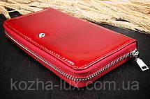 Красный кошелёк на молнии, фото 3
