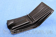 Чоловіче шкіряне портмоне Verity чорний VE-020-16, фото 3