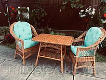 Набор мебели из цельной натуральной лозы Классик  Эко