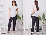 Блуза женская размер 42-44 46-48 50-52 54-56, фото 4