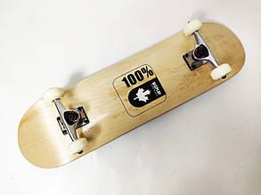 Скейтборд деревянный Canada 100%