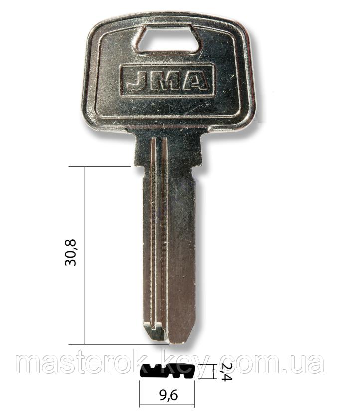 Заготовка ключа MCM-10