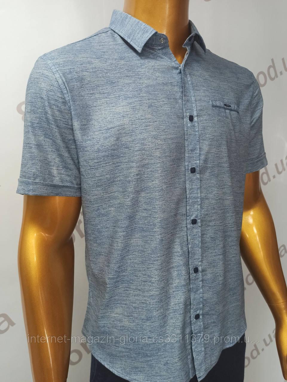 Мужская рубашка Amato. AG.19638-2(s). Размеры:M,L,XL(2), 2XL.