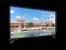 """Плоский телевизор Liberton 45"""" Smart-TV/Full HD/DVB-T2/USB Android 7.0"""