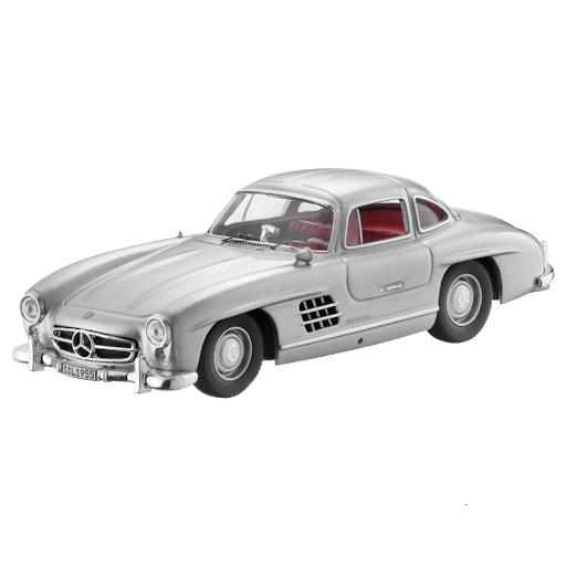 Модель Mercedes-Benz 300 SL Gullwing W 198 (1954-1957), Silver, 1:43 Scale, артикул B66041017