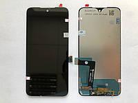 Оригинальный дисплей (модуль) + тачскрин (сенсор) для Motorola Moto G7 XT1962 (черный цвет)