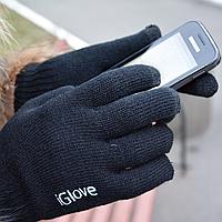 Перчатки для сенсорных экранов iGlove Black унисекс
