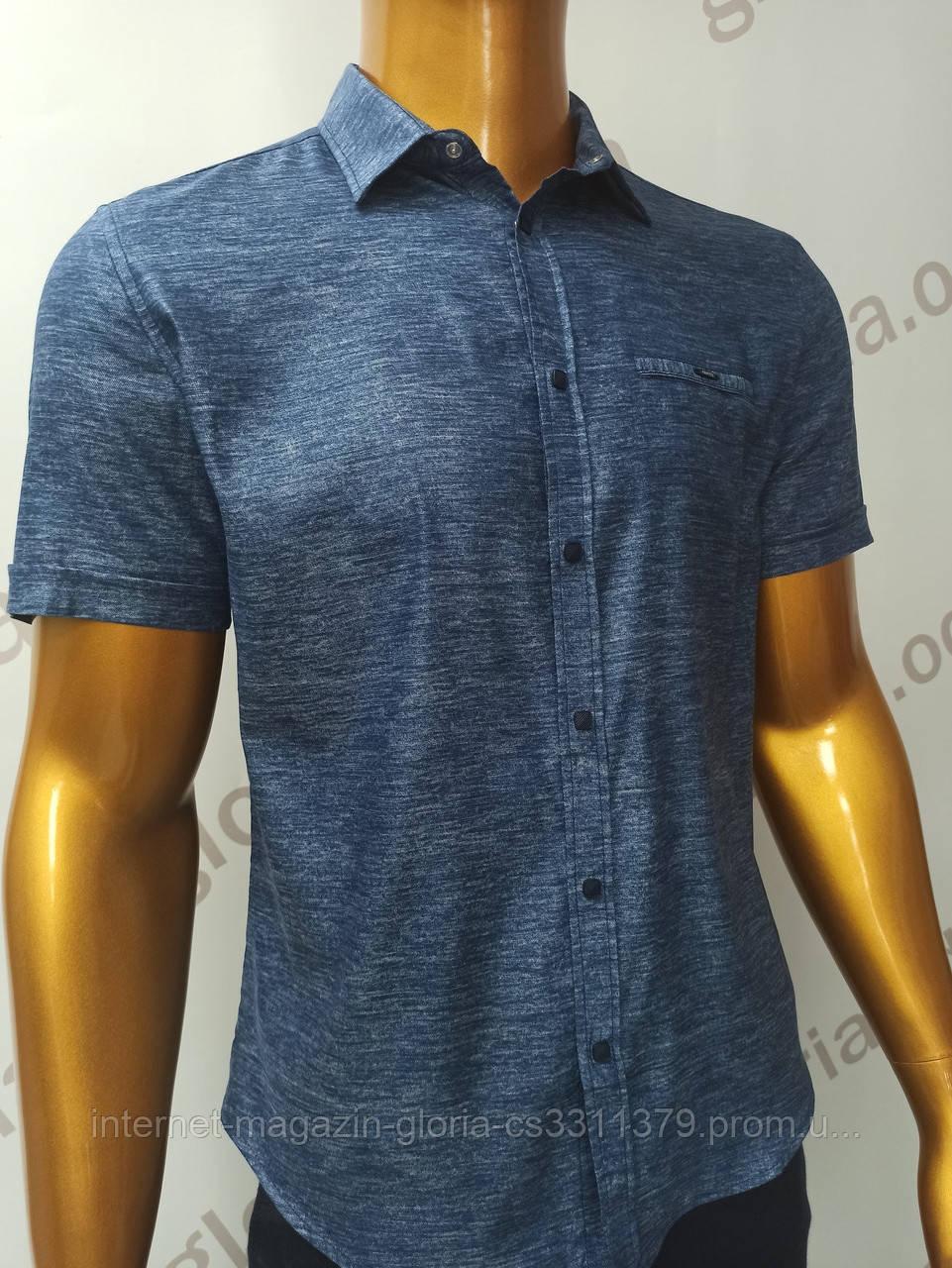 Мужская рубашка Amato. AG.19638-2(si). Размеры:M,L,XL(2), 2XL.