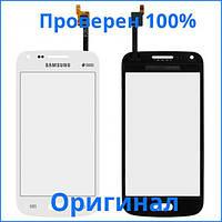 Сенсорный экран Samsung G350E Galaxy Star Advance Duos белый (тачскрин, стекло в сборе), Сенсорний екран Samsung G350E Galaxy Star Advance Duos білий