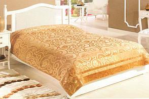 Велюровая махровая простынь Cestepe Bamboo Gold 200х220, фото 3