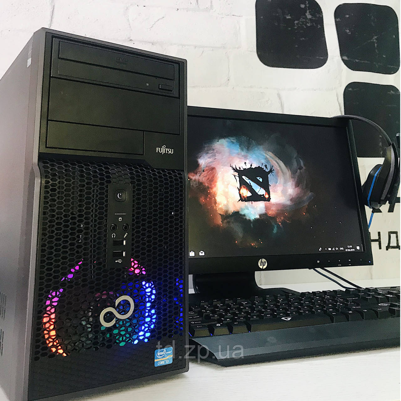 Игровой компьютер Intel Core i5-2310 + NVIDIA GTX 950 2Gb + RAM 8Gb + SSD 120Gb + HDD 500Gb