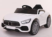 Детский электромобиль машина T-7652 WHITE белый с MP3