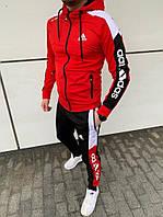 Спортивний костюм Adidas мужской красний