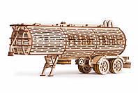 Пазл-конструктор из дерева «Прицеп цистерна» 200 деталей, фото 1
