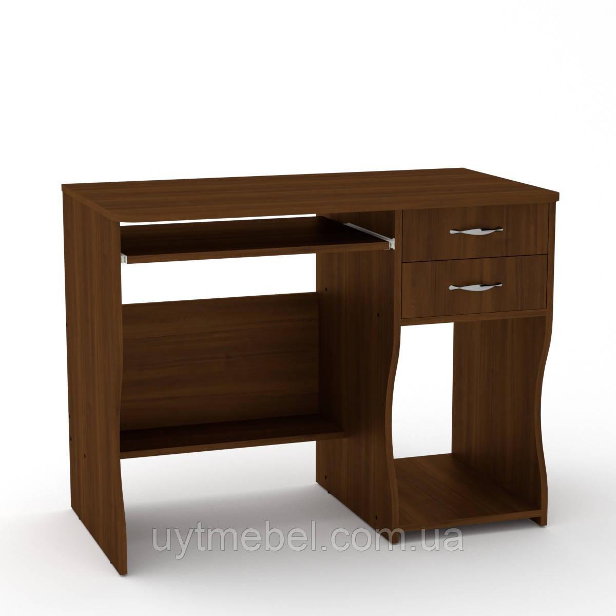 Стол компьют. СКМ-7 орех (КОМПАНИТ)