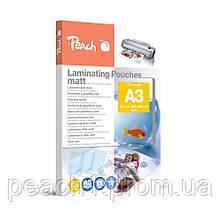 Матова Плівка для ламінування А3 Peach | 303 х 426 мм | 125 мкм глянець | 100 шт